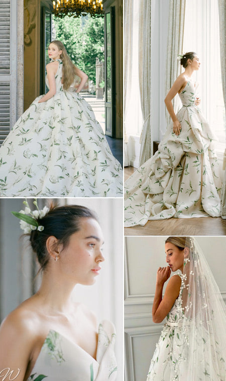 Monique Lhuillier Wedding Dresses 2021 Fall Collection to Love