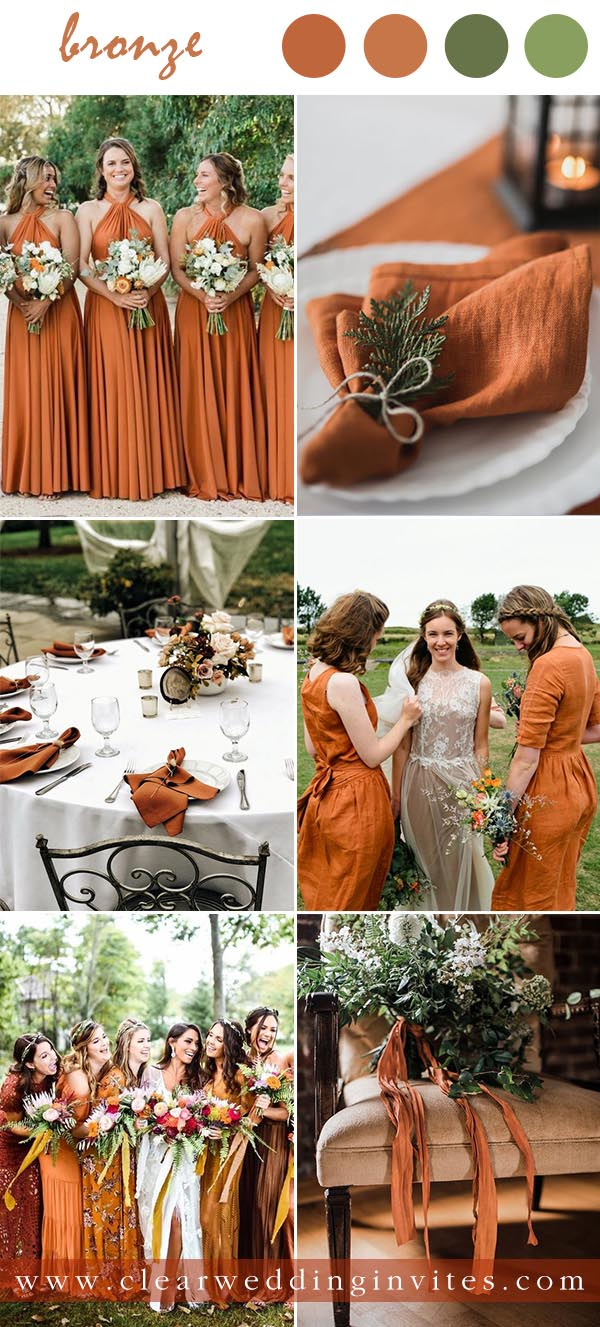 Bronze are not just for holiday parties. The versatile fruit can be made to be whimsical or formal, glamorous or modern, and of course, slightly spooky