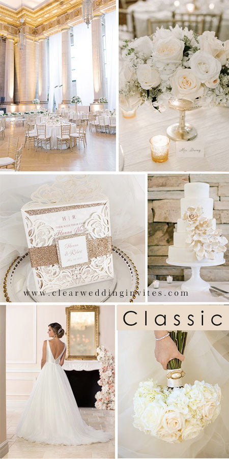 Fabulous neutral and ivory Wedding Colors for 2022 Wedding Trends