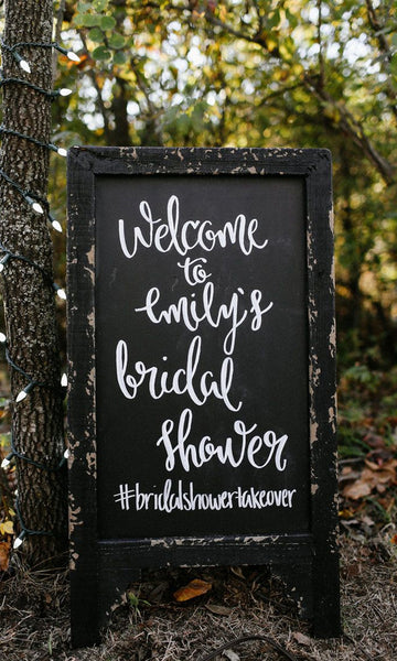 10 In-style Bridal Shower Signs Ideas To Choose From