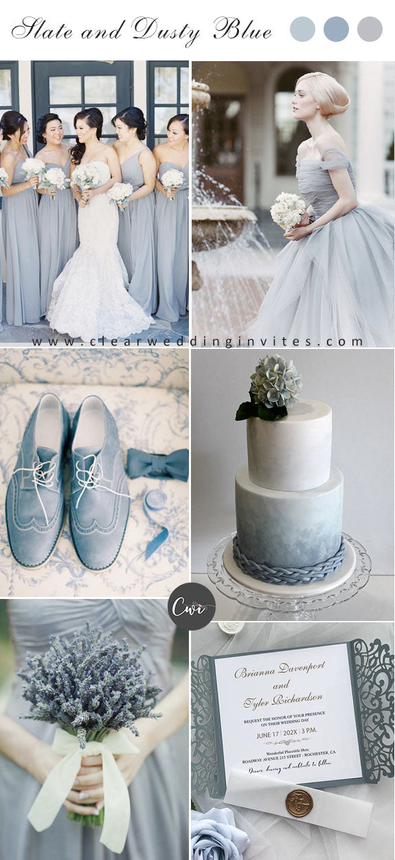 dusty-blue-and-silver-color-combo-for-winter-wedding