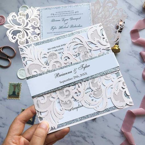 Blush Pink and Silver Wedding Color Ideas with Fairytale Vibe