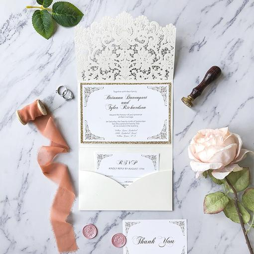 Classical Wedding Invitations The Difference of Modern Style and Classic Style Wedding Invitations
