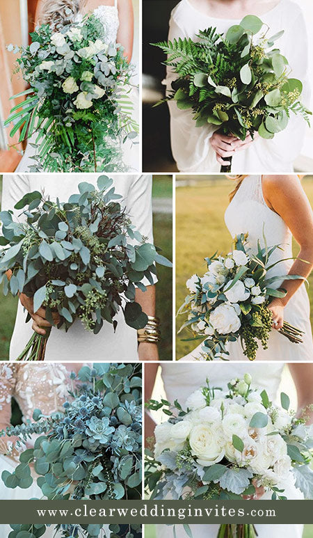 Gorgeous Ideas for a Greenery Outdoor Garden Wedding and Match Wedding Invitations