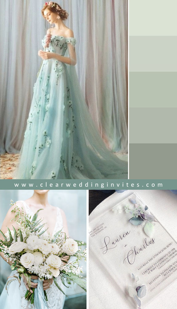 Mint Green Ethereal Wedding Ideas to Make An Amazing Nuptial