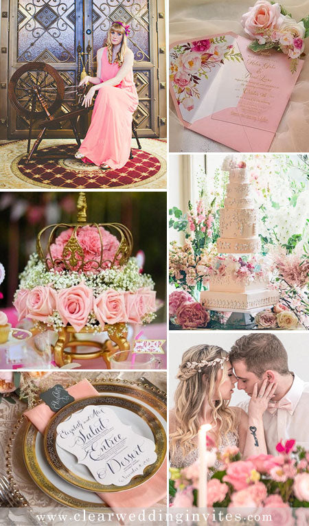 Be Our Guest: Disney Princess Inspired Fairy Tale Wedding Ideas