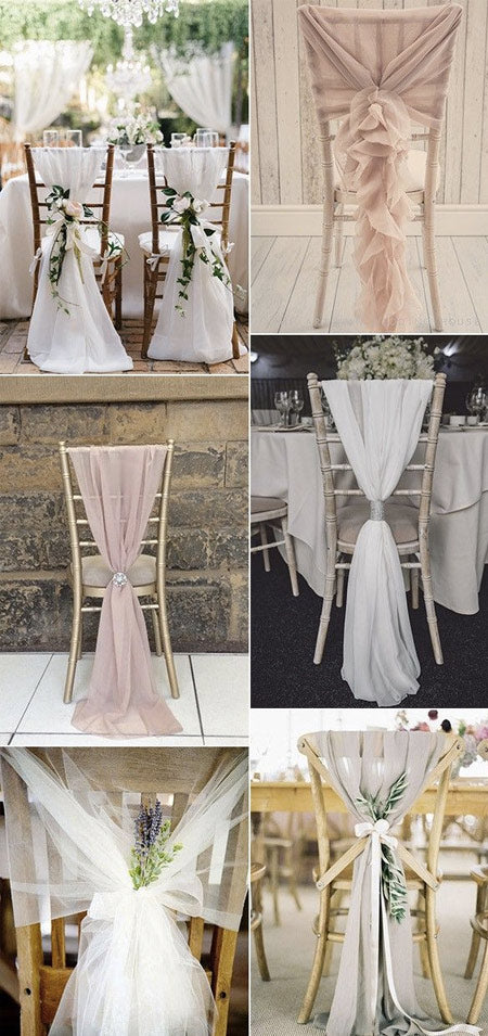 12 Creative DIY Ways to Decorate Your Wedding Chair