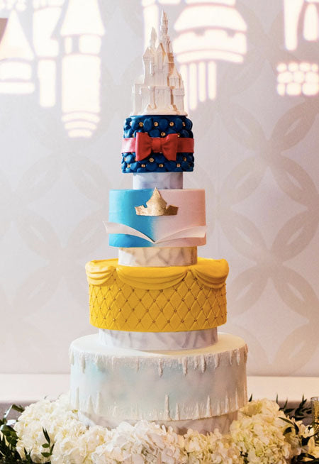 Aladdin-Inspired Disney-Loving Couples Will Melt Over These Magical Wedding Cake