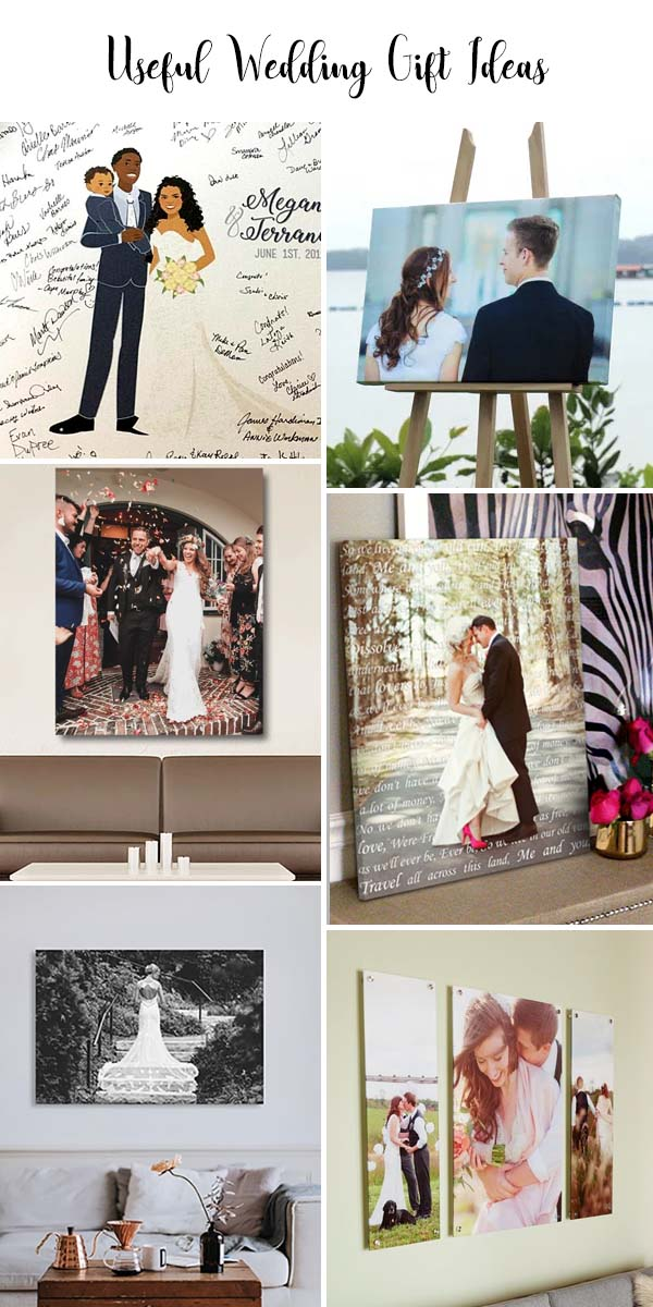 wedding present canvas your future bride with a gift before you say I do