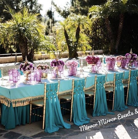 Aladdin-Inspired Disney-Loving Couples Will Melt Over These Magical Wedding Reception Table