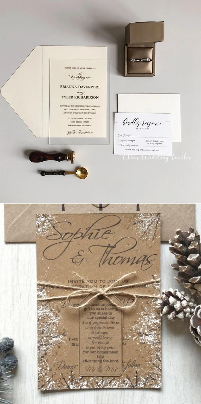 Christmas! The palette of burgundy and white keeps with the holiday season, especially when paired with winter greenery.
