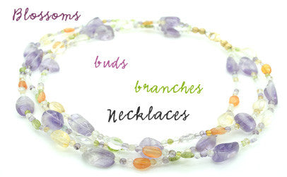 blossoms necklaces