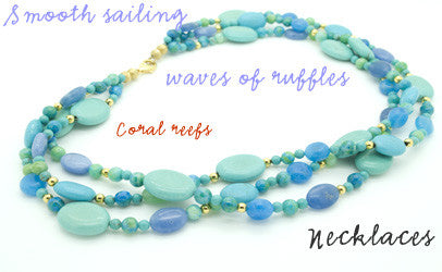 coral reefs necklaces