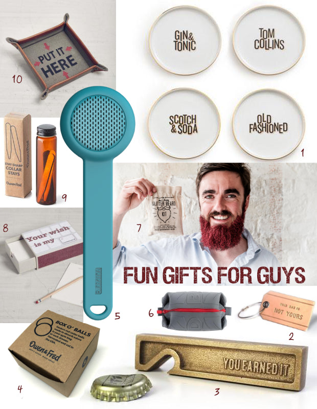 2016 Gift Guide - Fun Gifts for Guys