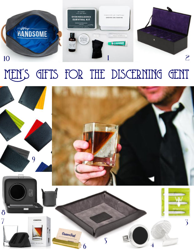 Men's Gifts for the Discerning Gent