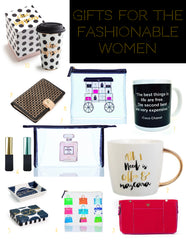 Gifts for the Fashionable Woman