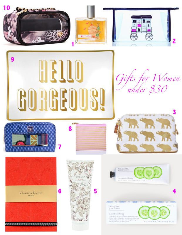 Gifts for Women Under $30