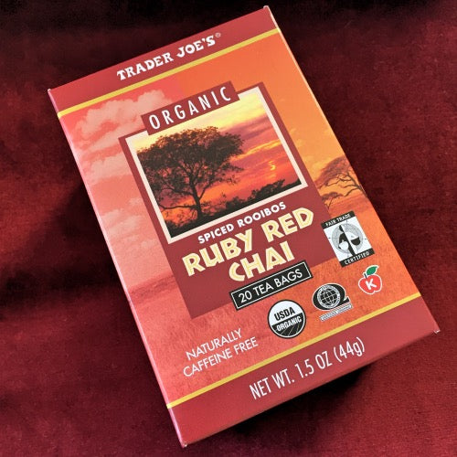 Trader Joes Ruby Red Chai Tea