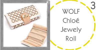 Wolf 1834 Chloé Jewelry Roll