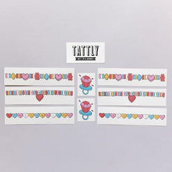 Arm Candy Set of Temporary Tattly Tattoos  - Wilson Street - Tattly - 1