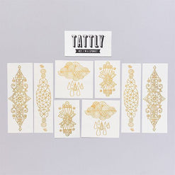 Radiant Set of Temporary Tattly Tattoos  - Wilson Street - Tattly - 1