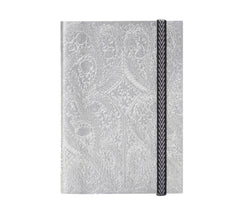 Paseo - Embossed Notebooks Christian Lacroix Papier Silver - Wilson Street - Libretto Group - 1