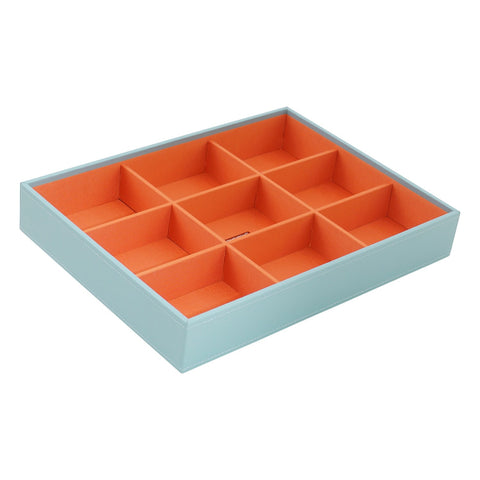 Deep Stackable Tray Aqua - Wilson Street - Wolf 1834 - 1
