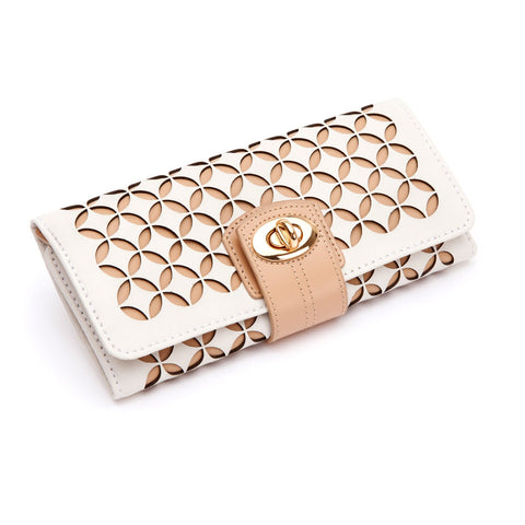 Chloe Jewelry Roll Cream - Wilson Street - Wolf 1834 - 3