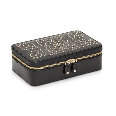 Marrakesh Zip Case Black - Wilson Street - Wolf Design - 6
