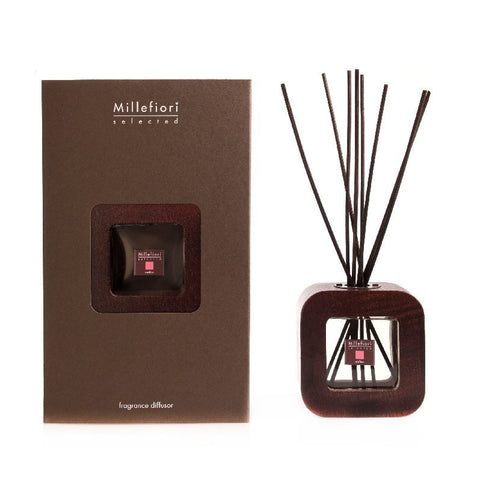 Wood Framed Diffuser - 2 Scents Ninfea - Wilson Street - Millefiore - 1