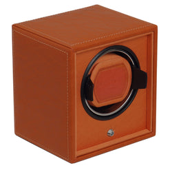 Cub Single Watch Winder - Module 1.8 Orange - Wilson Street - Wolf 1834 - 1