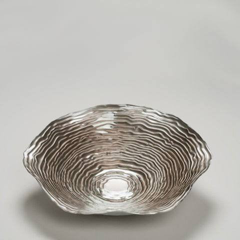 Clam Bowl in Pewter