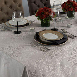 Aspen Tablecloth - Washable - Coated for Easy Care - 2 Colors  - Wilson Street - Mode Living - 1