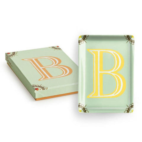 Vintage Character Tray - Letter B  - Wilson Street - Rosanna