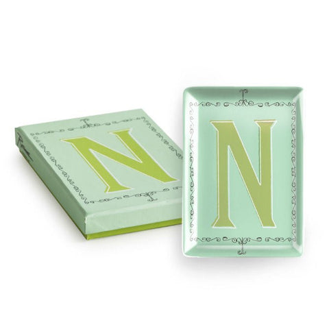 Vintage Character Tray - Letter N  - Wilson Street - Rosanna
