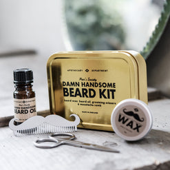 Best Damn Handsome Beard Kit  - Wilson Street - Men's Society - 1