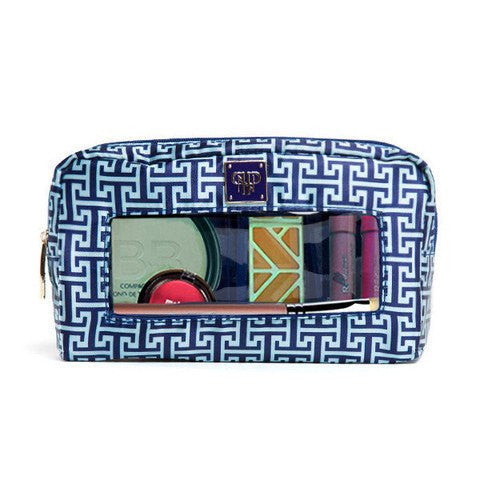 Classic Make-Up Case - Ocean Mykonos  - Wilson Street - PurseN - 1