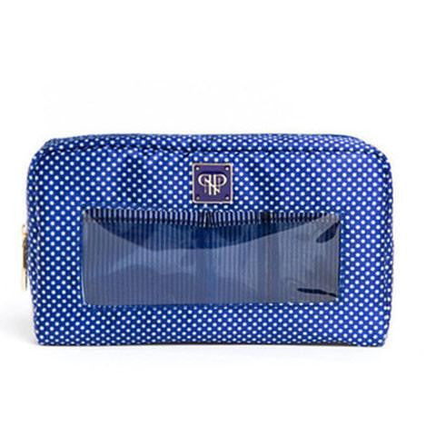 Classic Make-Up Case - Navy / Tuxedo  - Wilson Street - PurseN - 1
