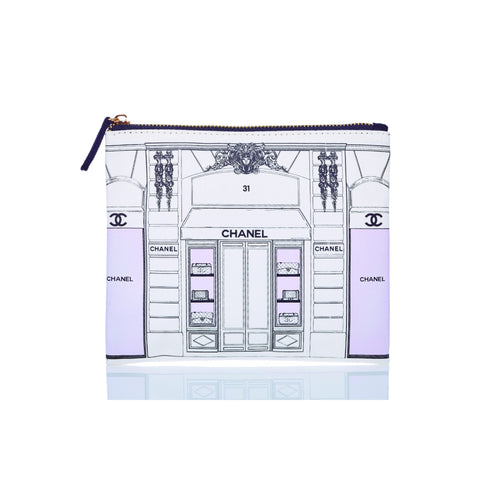 Flat Zip Design Series Canvas Bag Chanel Storefront / None - Wilson Street - Toss Designs - 2
