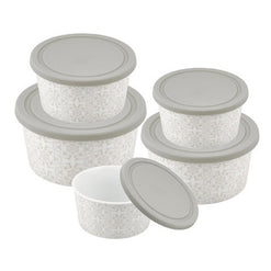 Danico Imperial® collection Round Porcelain  Nesting Food Container  - Wilson Street - Danico