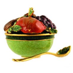 Fruit and Nut Bowl with Spoon  - Wilson Street - Quest Collection