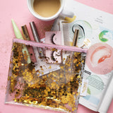 Good As Gold Everything Pouch  - Wilson Street - Toss Designs - 1