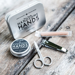 Handsome Hands Manicure Kit  - Wilson Street - Men's Society - 1
