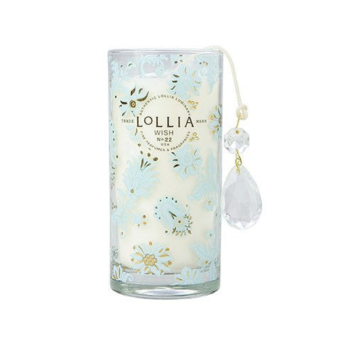Wish Petite Perfumed Luminary - Candle  - Wilson Street - Lollia - 1