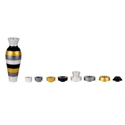 Oil Jug Menorah by Agayof Silver / Grey / Gold / Black - Wilson Street - Agayof - 1