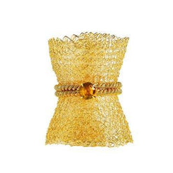 Gold Mesh Napkin Rings - Set of 4 Default - Wilson Street - Bodrum