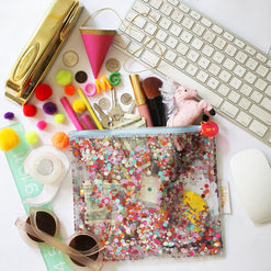 The Everything Pouch, Confetti Included  - Wilson Street - Toss Designs - 1