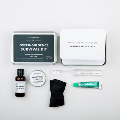 Overindulgence Survival Kit  - Wilson Street - Men's Society - 1