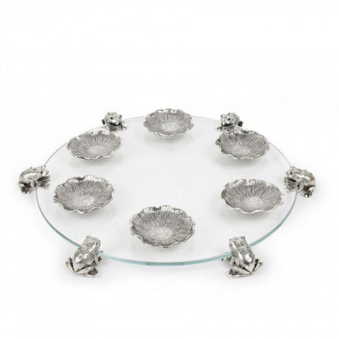 Sfardea Seder Tray with Frogs  - Wilson Street - Quest Collection - 1