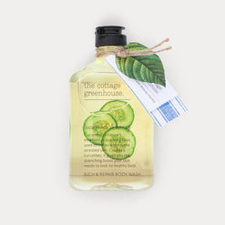 Cucumber & Honey Rich & Repair Body Wash  - Wilson Street - the cottage greenhouse - 1